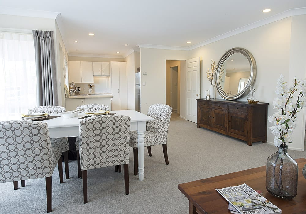 Greenview Park Village - 2 bedroom villa dining