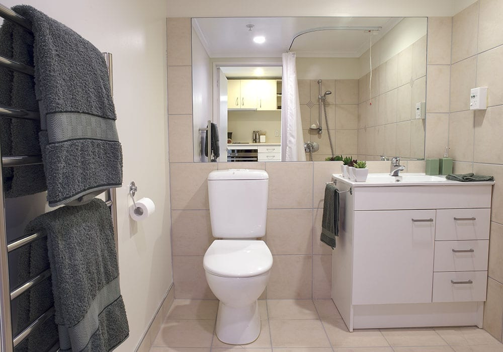 Greevniew Park Village Apartment Bathroom